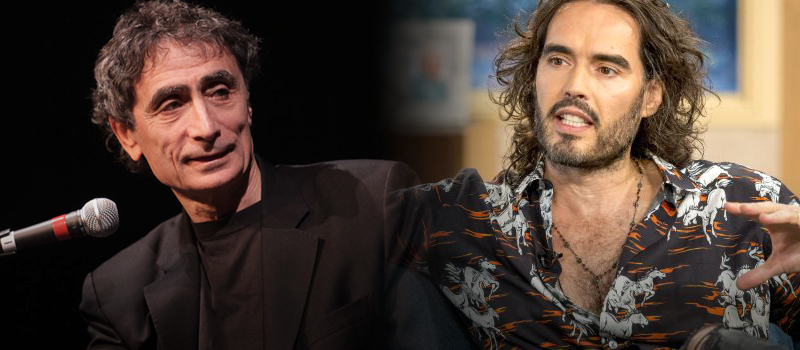 Russel Brand and Dr Gabor Mate