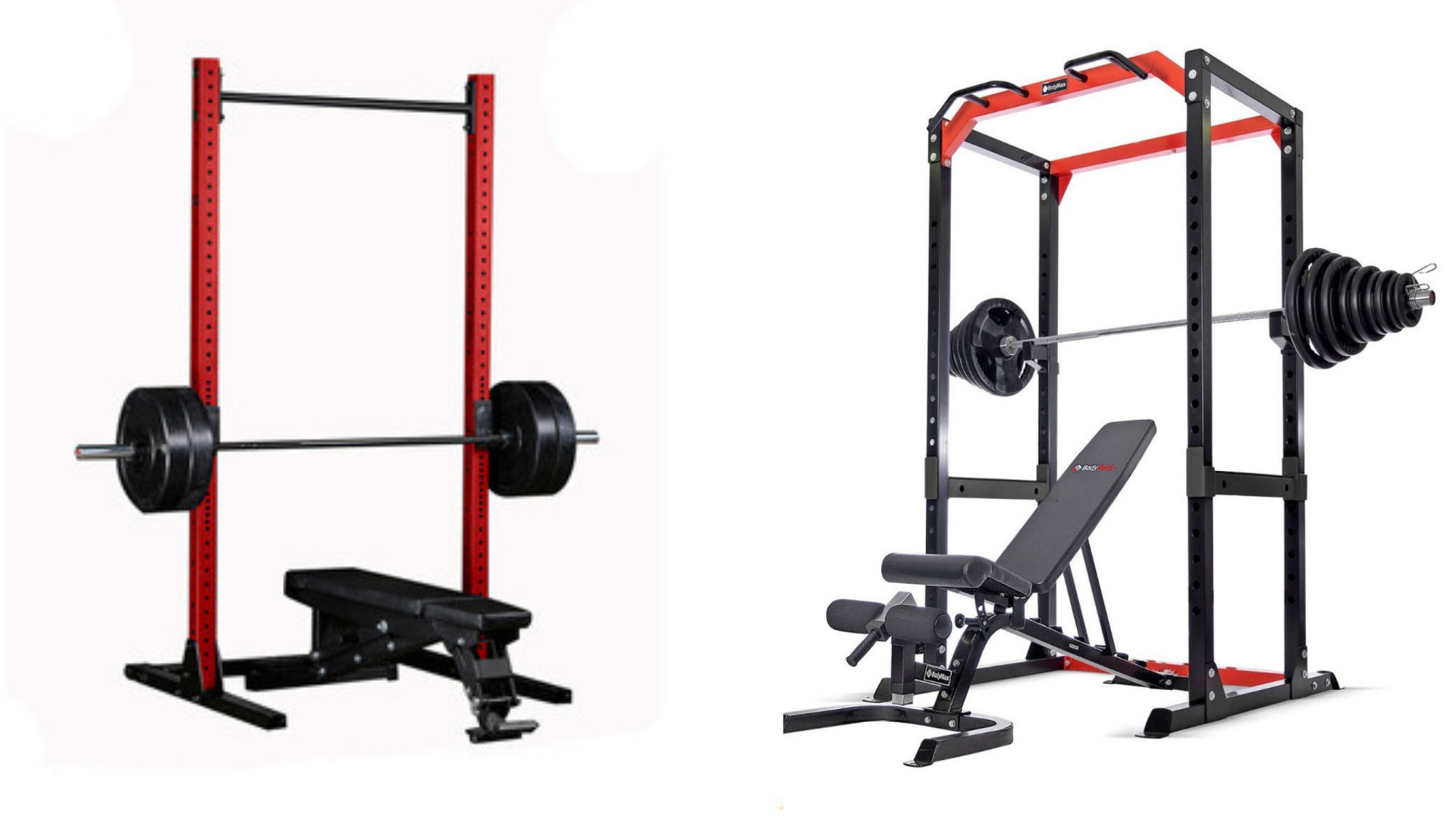 Power Rack and Bench Combination