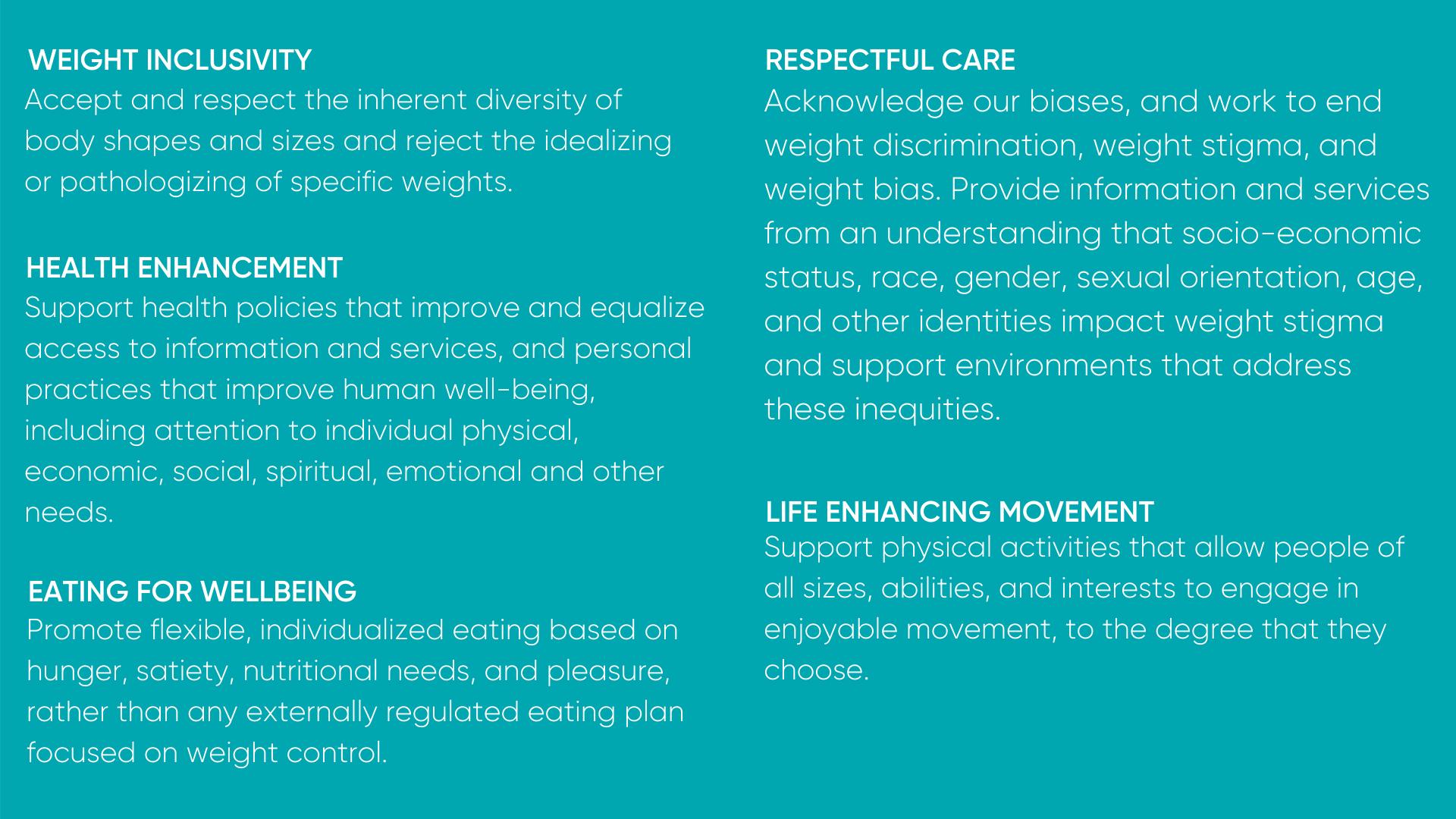 HAES Principles 3